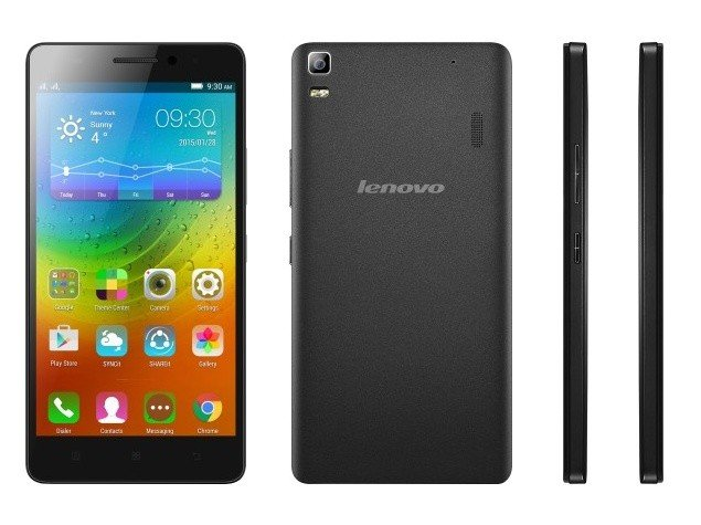 Lenovo K4 Note Front And Back View