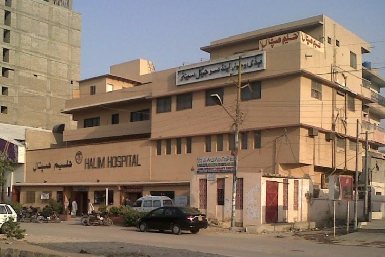 Halim Hospital - Outside View