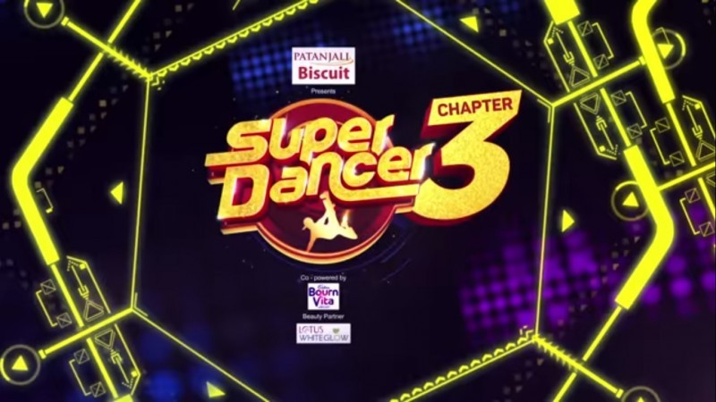 super Dancer Chapter 3 logo