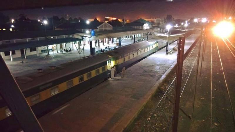 Nuttall Railway Station