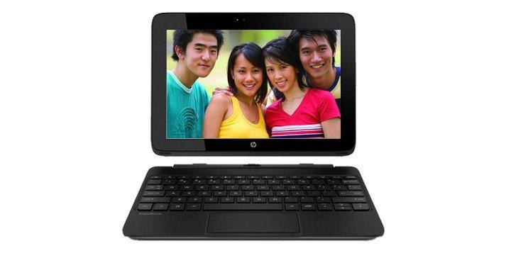 HP SlateBook 10-H003se X2 Front