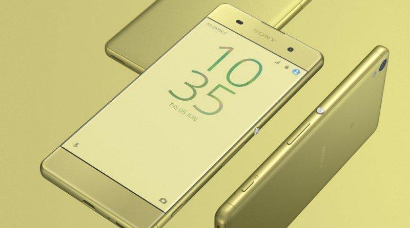 Sony Xperia XA Side Slim