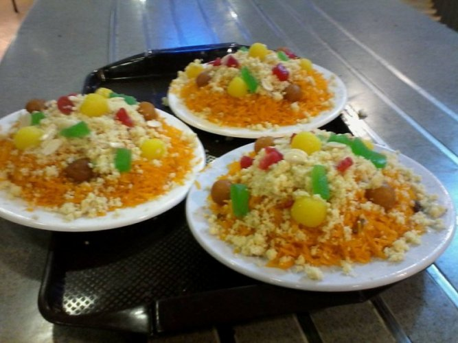 Student Biryani Sweet Dish