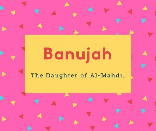 Banujah Name Meaning The daughter of al-Mahdi