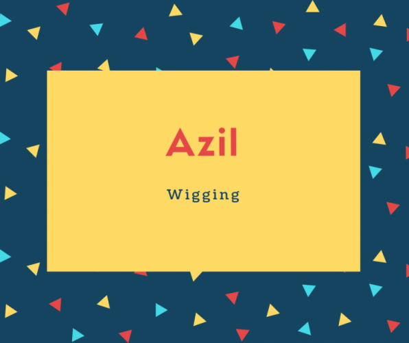 Azil Name Meaning wigging