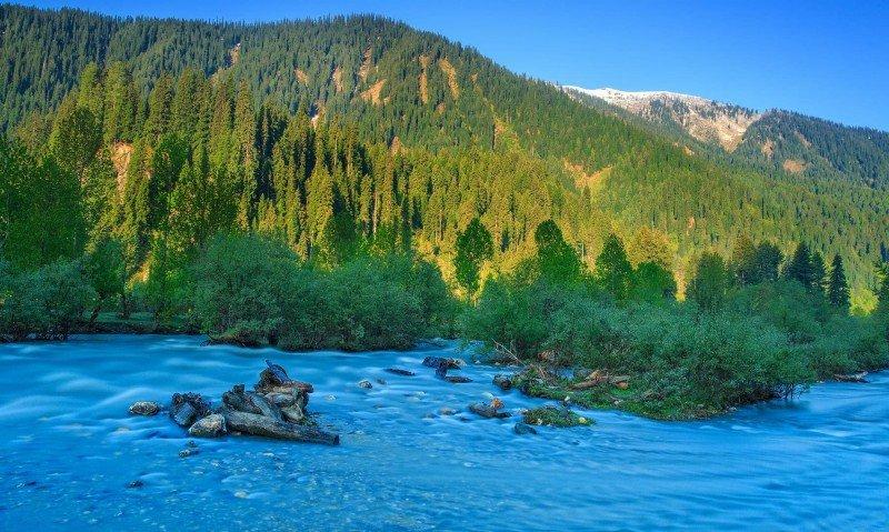 Neelum River Muzaffarabad
