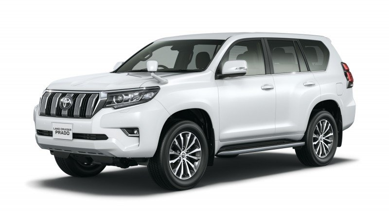 Toyota Prado Land Cruiser Face-lift 2018 - Price, Features and Reviews
