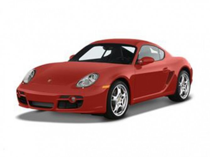 Porsche Cayman Cayman S Model view