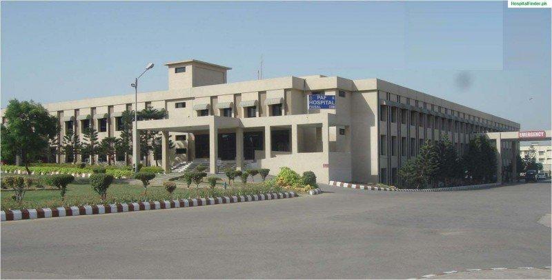 PAF Faisal Base Hospital - Outside View