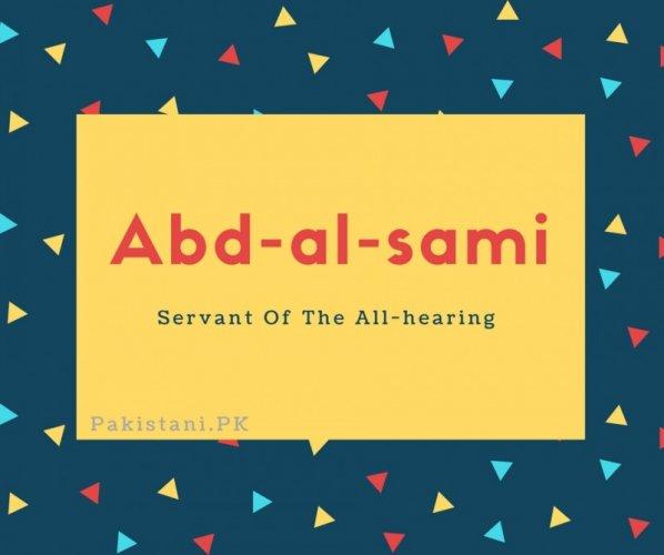 Abd-al-sami