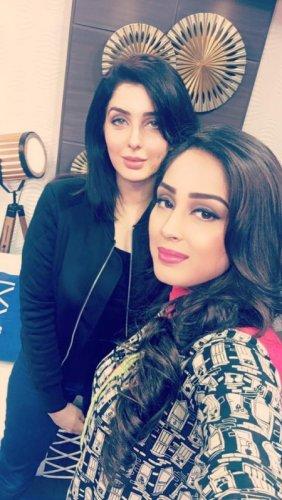 Cute Shamayel Tareen Selfie