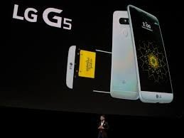 LG G5 Front and Back View.