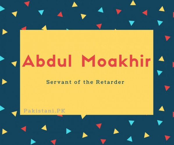 Abdul Moakhir