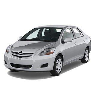 Toyota Belta X 1.3 2017 - White