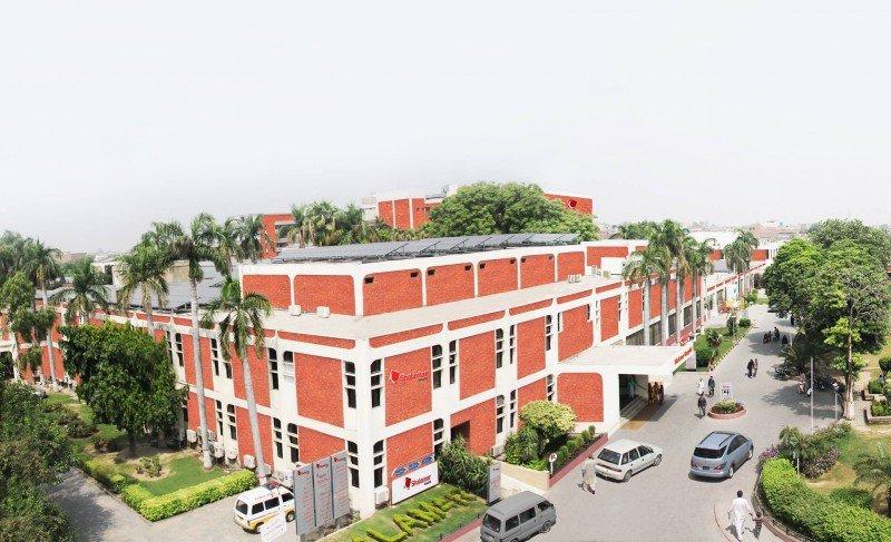 Shalamar Hospital - Outside View