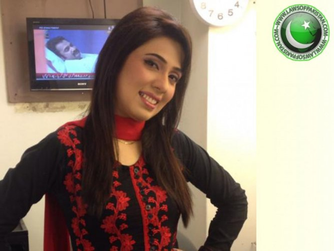 Cute Sehrish zohaib in Black and Pink Dress
