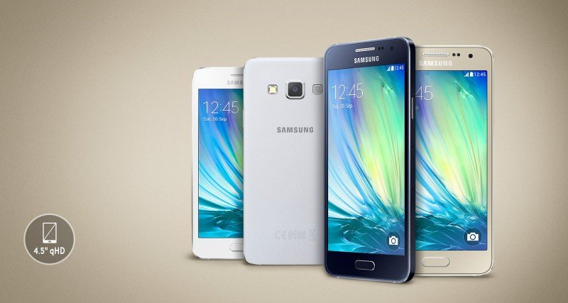 Samsung Galaxy A3 (2016) Colors