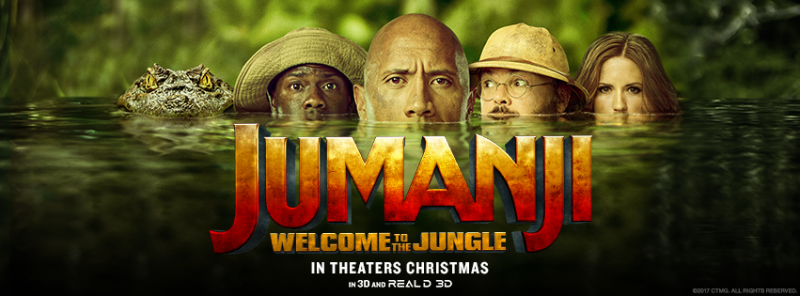 JUMANJI WELCOME TO THE JUNGLE  1