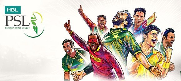 Pakistan Super League 2017 Cover Photo