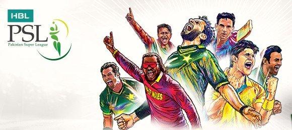 Pakistan Super League 2017 Cover Photo