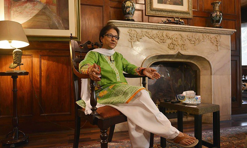 Asma Jahangir - father name, education and profile