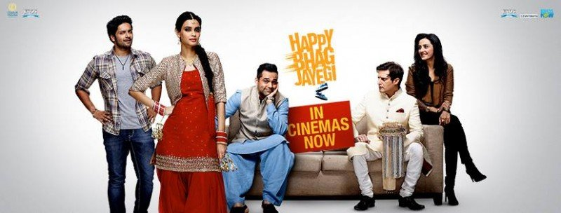 Happy Bhaag Jayegi Cover