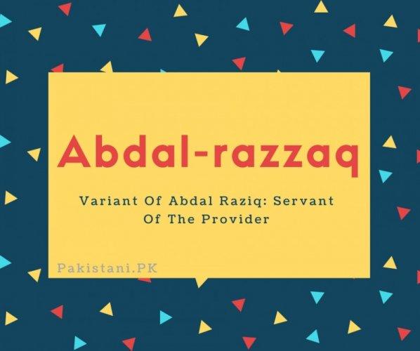 Abdal-razzaq