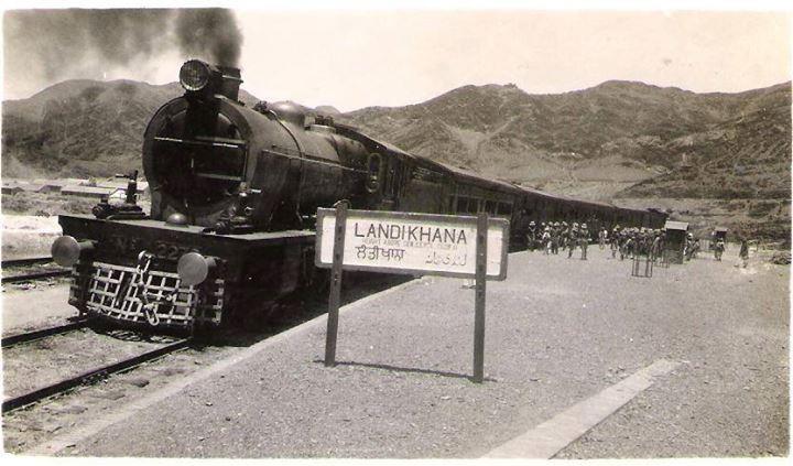 Landi Khana Railway Station