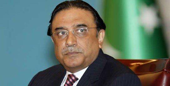 Asif Ali Zardari Cover