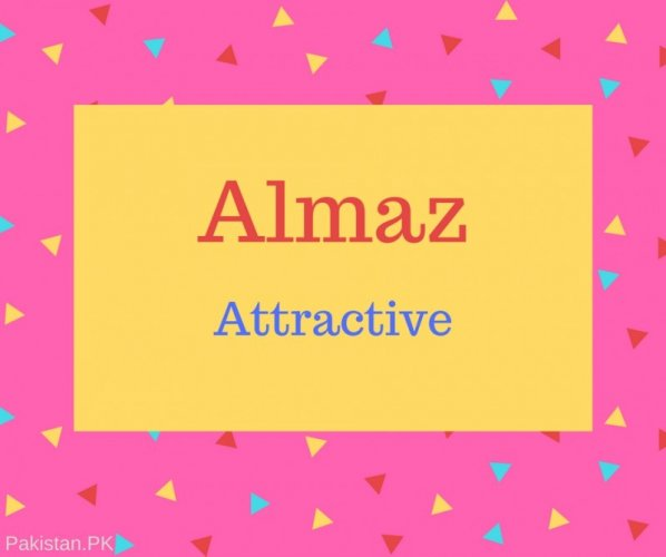 Almaz Name Meaning Attractive.