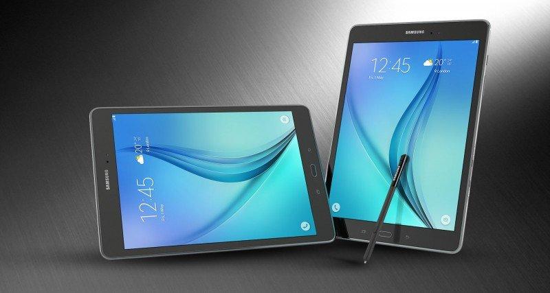 Samsung Galaxy Tab A P555 LCD View