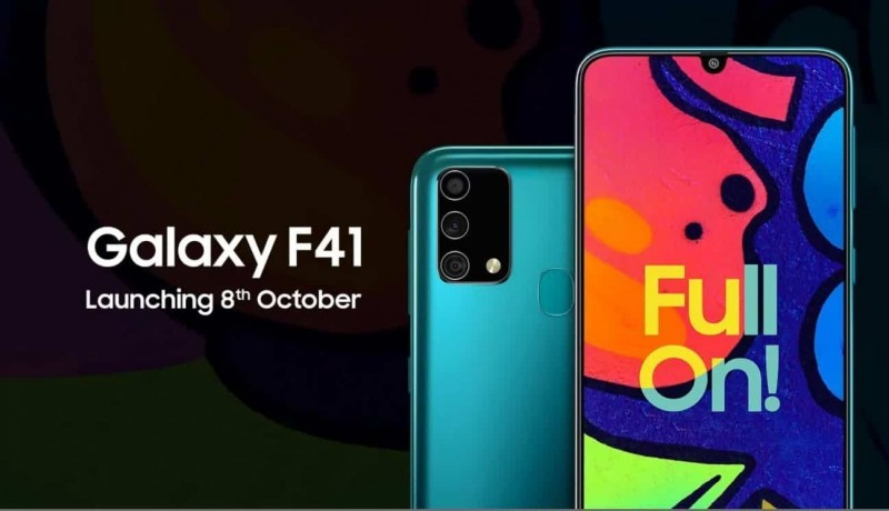 Samsung Galaxy F41 - Price, Specs, Review, Comparison