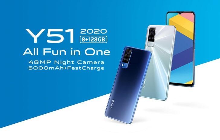 Vivo Y51 2020 - Price, Specs, Review,Coparison