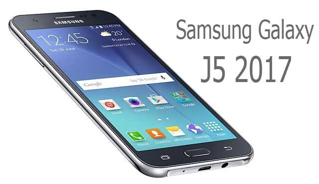 Samsung Galaxy J5 2017 Design
