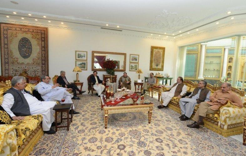 nawaz sharif house
