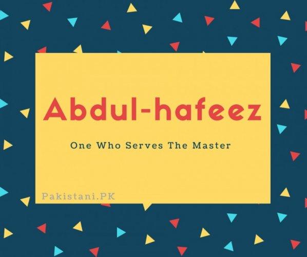 Abdul-hafeez