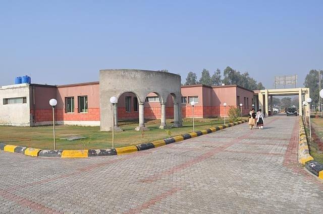 Chaudhry Rehmat Ali Memorial Trust Hospital - Entrance