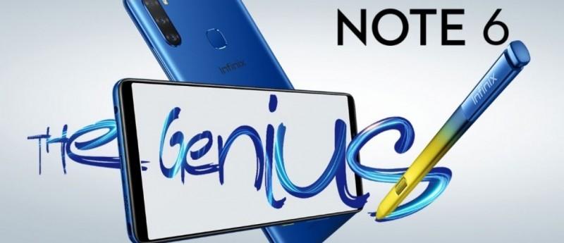 Infinix Note 6 Price ,specs,Review,Comparison