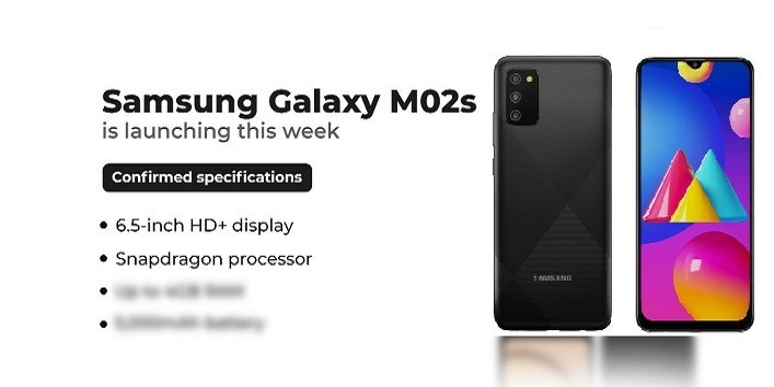 Samsung Galaxy M02s - Price, Specs, Review,Coparison