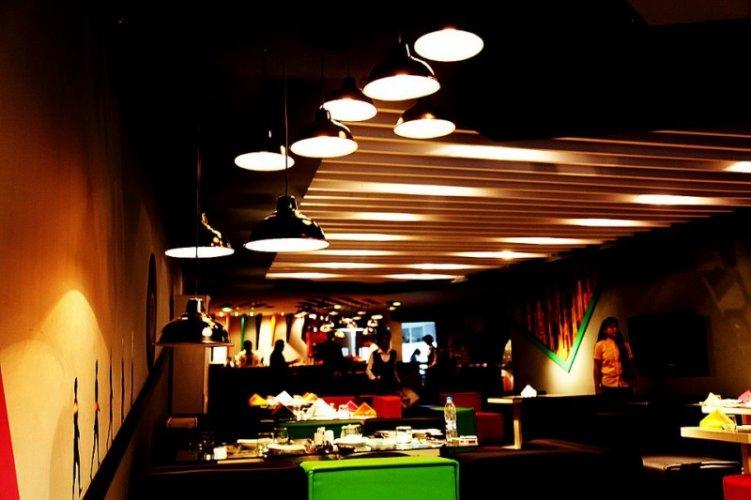 Caju Cafe Indoor Location