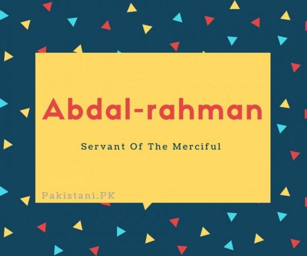 Abdal-rahman