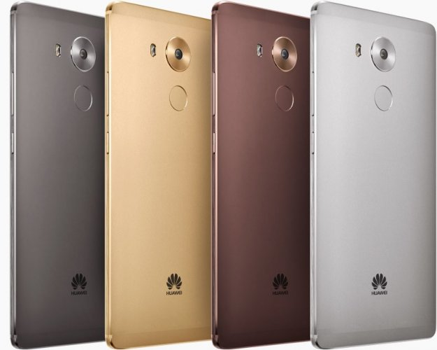Huawei Mate 8 Back View