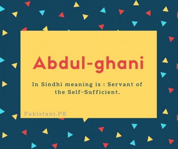 Abdul-ghani