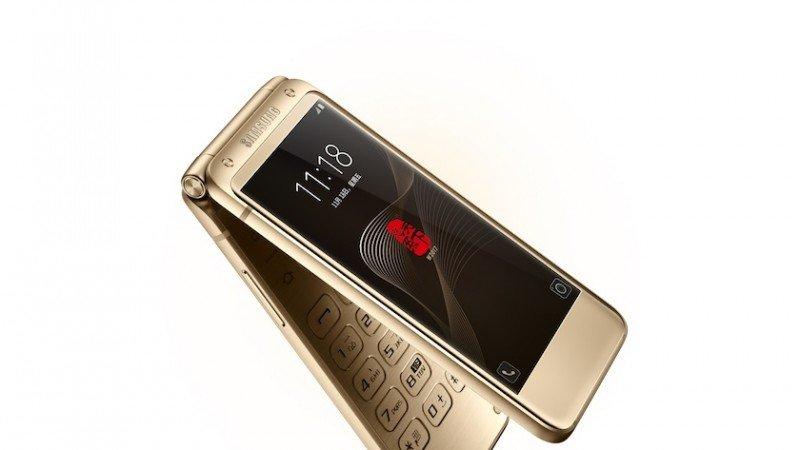 Samsung W2018 Gold