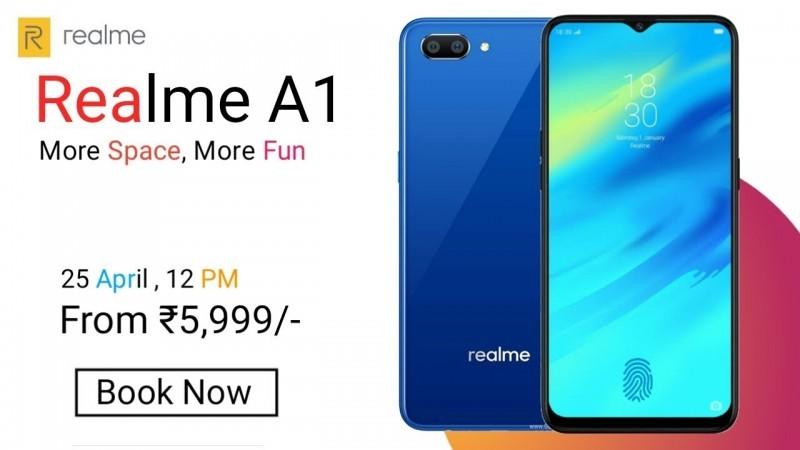 Realme A1 - Price, Reviews, Specs, Comparison