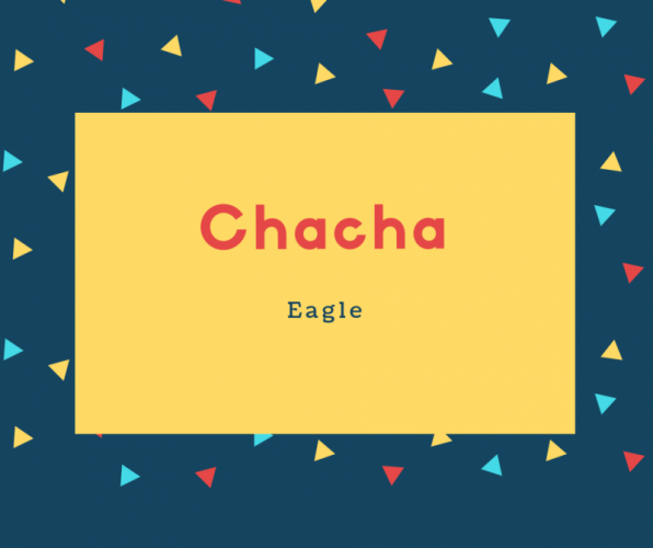Chacha Name Meaning Eagle