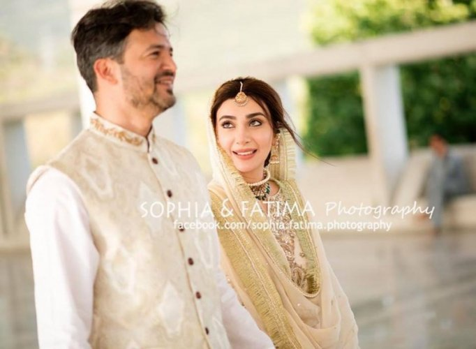 Ayesha Khan and Her Husband