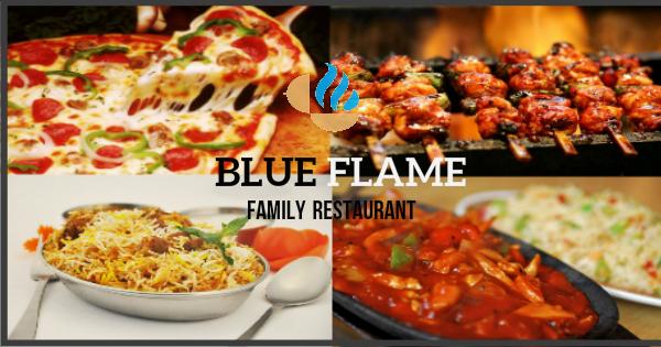Blue Flame Restaurant Cover 2