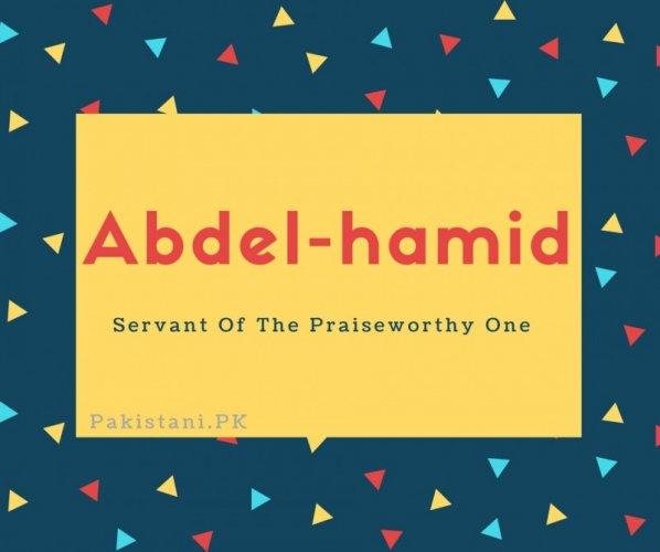 Abdel-hamid