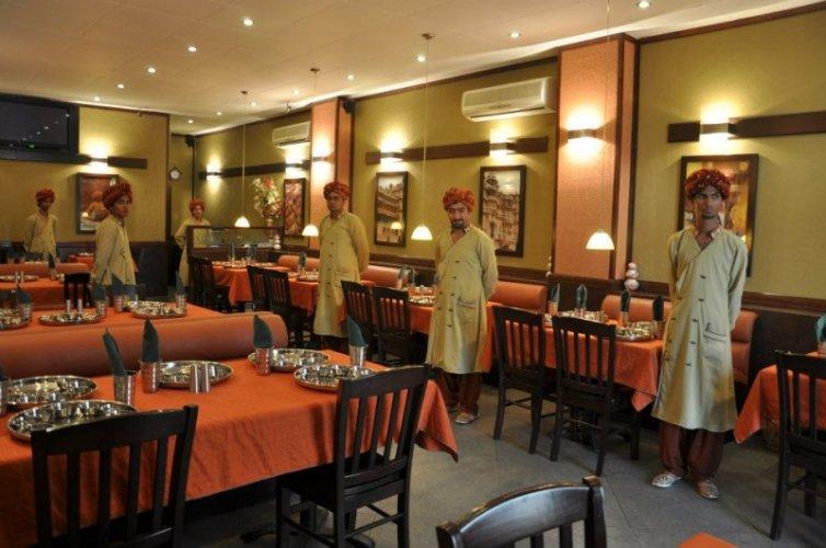 Raj Rasoi Indoor Location